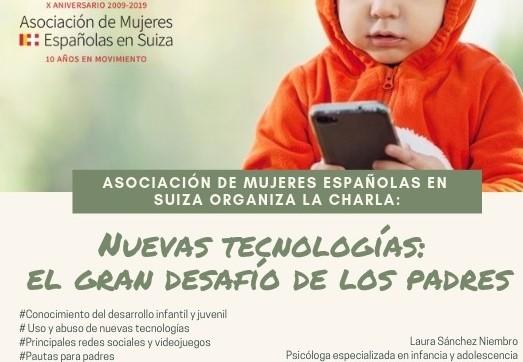 Nuevas Tecnologías: El gran desafío de los padres.