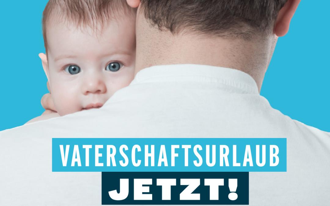 Vaterschaftsurlaub jetzt: El permiso de paternidad en Suiza