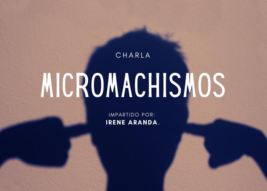 "Charla ""Micromachismos"""